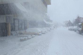 Žabljak, snijeg