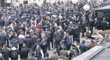 Protest u Rožajama