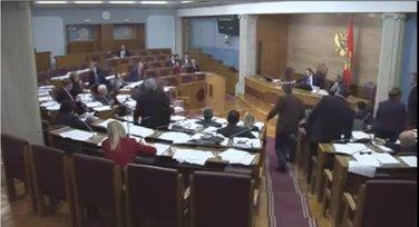 Tuča u Skupštini