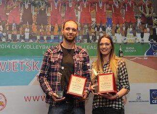 Vojin Ćaćić i Elza Hadžisalihović