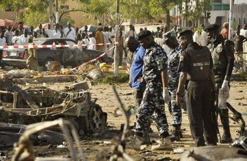 Nigerija, eksplozija