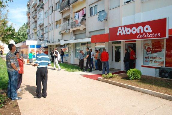 Albona protest