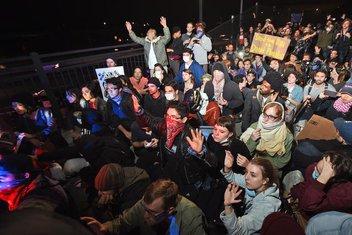 SAD, Berkli, Kalifornija protest
