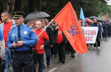 Protest Unija sindikata