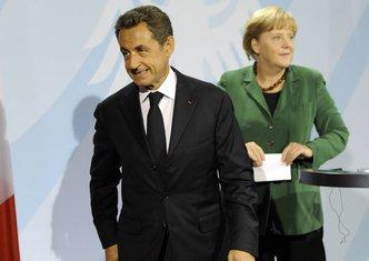 Angela Merkel, Nikola Sarkozi