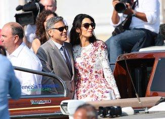 Džordž Kluni, Amal Alamudin