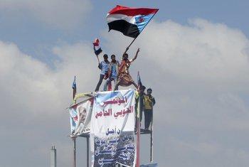 Jemen demonstranti