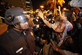 Ferguson protesti