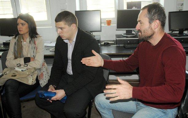 Studenti Filozofskog, Zoran Mikić, Dajana Vemić, Petar Radosavović