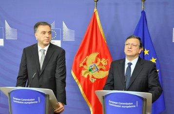Filip Vujanović, Žose Manuel Baroso