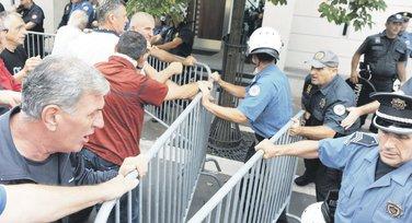 Montavar Metalac, protest
