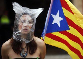 katalonija, pristalica nezavisnosti