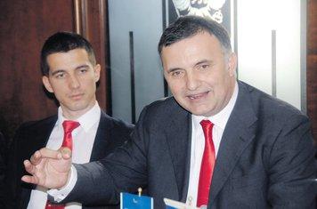 Aleksa Bečić, Srđan Milić
