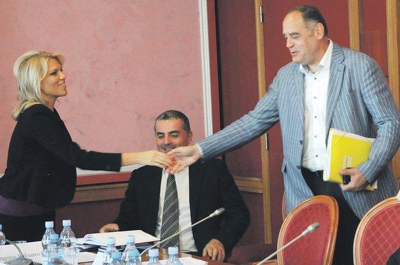 Radna grupa za izradu Zakona o finansiranju partija