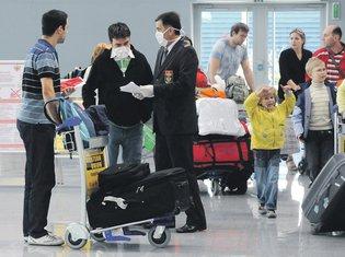 ptičji grip, aerodrom Podgorica