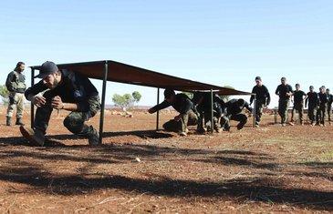 pobunjenici, Sirija
