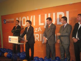 Pozitivna Crna Gora, tribina, Ulcinj