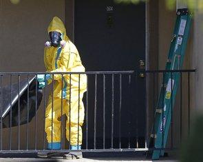 Dalas, ebola
