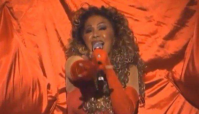 Neda Ukraden kao Beyonce