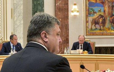 Vladimir Putin, Petro Porošenko