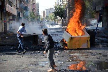 Najveće demonstracije bile su u Dijarbakiru
