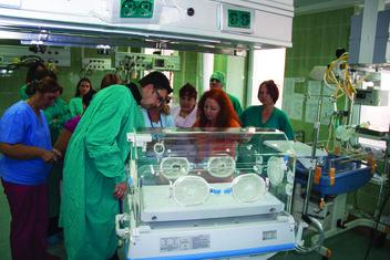 Inkubator, donacija, Cosmetics