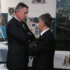 Milo Đukanović, Svetozar Marovič