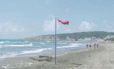 Crvena zastavica, plaža