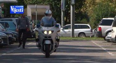 Motor, policija