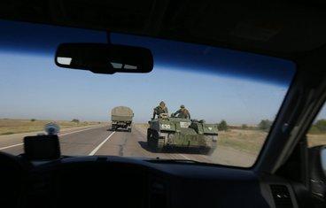 Ukrajina sukobi, vojska