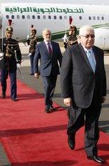 Irački predsjednik i šef diplomatije po dolasku u Pariz