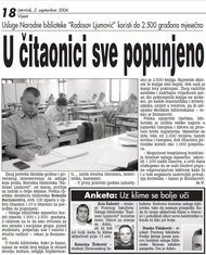 Čitaonica Radosav Ljumović