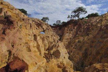 Centralnoafrička Republika, rudnik zlata