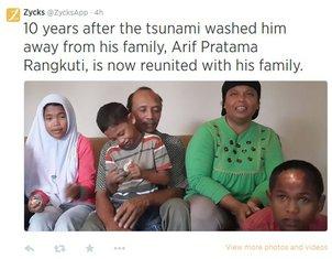 Indonezija, cunami