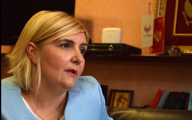 Ministarka ekonomije Dragica Sekulić