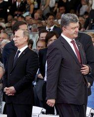 Vladimir Putin, Petar Porošenko