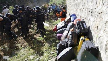 Tibet, autobuska nesreća