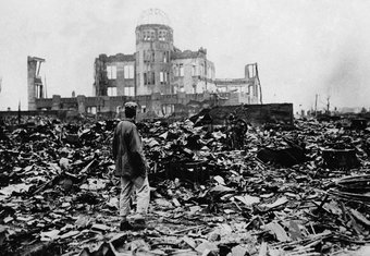 Hirošima, Atomska bomba