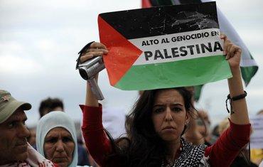 Gaza protest, Španija