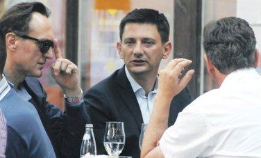 Ranko Krivokapić, Darko Pajović, Dragan Bogojević