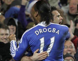 Frank Lampard i Didije Drogba