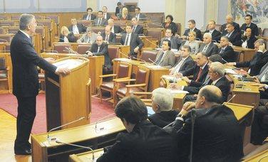 Milo Đukanović, premijerski sat