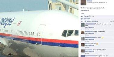 malezijski avion, facebook, fejsbuk