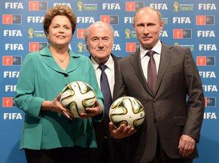 Rusef, Blater, Putin