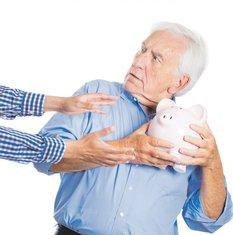 penzioner štednja