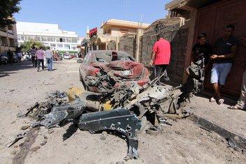 Libija, Bengazi, švedski konzulat