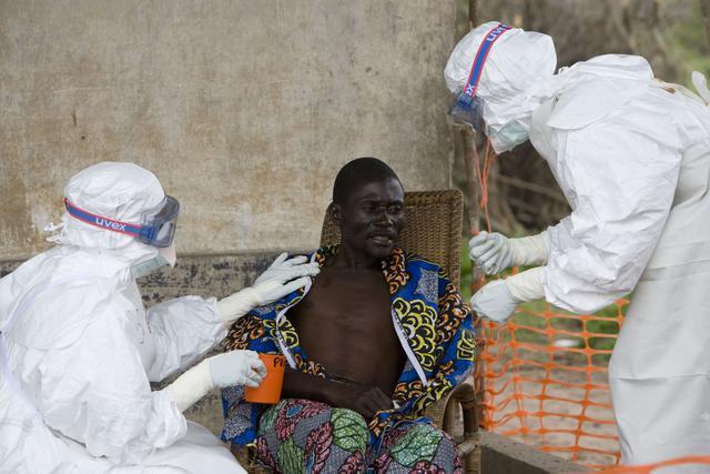 Afrika, ebola