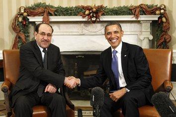 Nuri Al Maliki Barak Obama