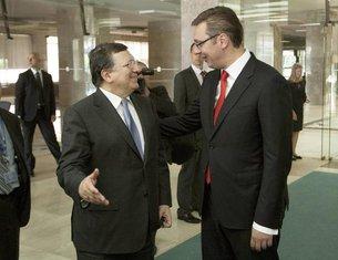 Žoze Manuel Barozo, Aleksandar Vučić