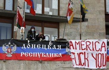 Donjeck, proruski demonstranti
